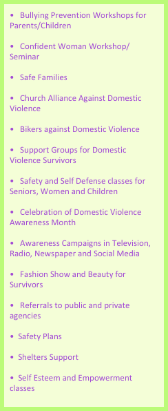 Bullying Prevention Workshops for Parents/Children